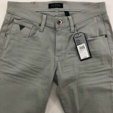 Guess Vermont Slim Fit Jeans Mens 30x32 Tapered Low Rise Stretch Mountain Gray