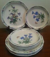8pc Noritake Conservatory (4) Salad (4) Bread Plates Very lightly used EUC