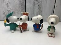 Snoopy Toy Lot McDonald' World Happy Meal Peanuts Vintage Kids Boys Girls
