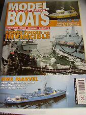 MODEL BOATS 1999  583 HMS MARVEL PAULA III HMT RESOLVE DEXTROUS TITANIC MASCOTTE