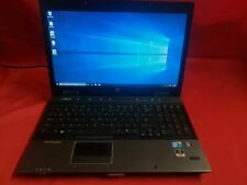 HP EliteBook 8450w i7 M640 2.80GHz 4GB RAM 300GB HDD