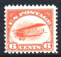 [SF]   US #C1 ~1st Airmail Stamp ~ 1918 'Jenny' Mail Transport Plane ~ MNH OG