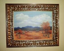 California Plein Air Impressionism Desert Palm Springs Landscape Oil Painting