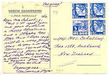 NED INDIE DUTCH INDIES 1949 BANDOENG  BK =PRIVE PATROUILLE = VW. PR.NEW ZEALAND