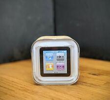 - sellado de fábrica Apple iPod Nano 6th Generación Plateado (8GB)