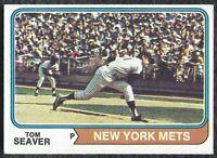 1974 74 Topps Tom Seaver Vintage Baseball Card #80 New York Mets HOF - VG-EX EX