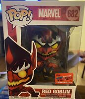 Funko Pop! Marvel Red Goblin #682 *OFFICIAL NYCC 2020 STICKER*