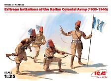 ERITREAN BATTALIONS OF THE ITALIAN COLONIAL ARMY (1939-1940) 1/35 ICM BRAND NEW