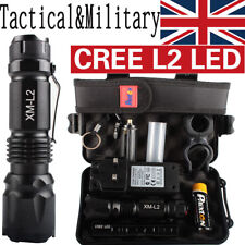 20000LM X800 Shadowhawk Tactical*Military XM-L L2 LED Flashlight Torch Gift Kit
