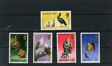 JERSEY 1979 Sc#212-221 WILD ANIMALS/BIRDS SET OF 5 STAMPS  MNH