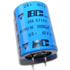 10000uF 40V Capacitor Aluminium Electrolytic 30x40 LOW ESR Snap-in 056 Vishay BC