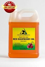 RED RASPBERRY SEED OIL UNREFINED ORGANIC EXTRA VIRGIN COLD PRESSED PURE 7 LB