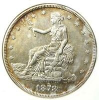 1878-S Trade Silver Dollar T$1 - Certified ANACS AU50 Details - Rare Coin!