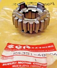 SUZUKI 5TH DRIVEN TRANSMISSION GEAR GSF 1200 S 2001-2005 NOS/OEM 24351-48B04 B06