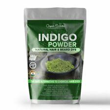 Organic Essentials Indigo Powder For Natural Hair & Beard Dye- Black 250 Grams