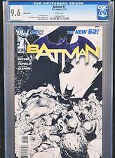 Batman 1 Vol 2 New 52 1:200 White Variant CGC 9.6
