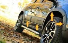 2018Up Dacia Duster Fender & Door Moulding ABS Body Kit 12Pieces