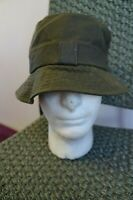 MAN'S BARBOUR COTTON WAXED BUCKET HAT SIZE M