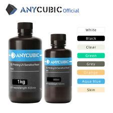 Anycubic 1KG UV Résine 405nm Gris blanc Noir For LCD Imprimante 3D Photon MONO X