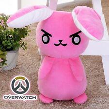 Overwatch D.VA DVA MEKA Mech Rabbit Plush Pillow Bunny 53cm Stuffed Doll Cosplay