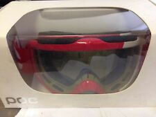 POC Iris Comp Skiing Goggles Bohrium Red Middle