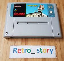 Super Nintendo SNES Paperboy 2 PAL
