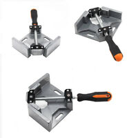 90 Deg Corner Right Angle Clamp Vice Grip Welding Woodworking Tool Aluminium