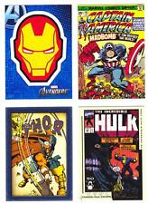 MARVEL MOVIES INSERT CARDS--Lot of 17 Mixed Insert Cards^^