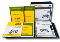 SERVICE PARTS MANUAL SET FOR JOHN DEERE A AW AH AN AR AO TRACTOR CATALOG SHOP