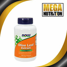 NOW Foods Olive Leaf Extract 18% 100 Veg Caps   Natural Vegan Herbal Supplement