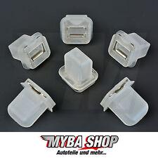 5x revestimiento de madera clips de fijación bmw e39 e38 51417001629 #neu #