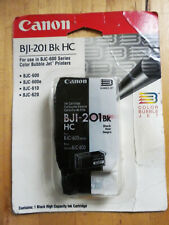 GENUINE NEW CANON BJI-201 High Capacity Black Ink Cartridge BJ-600 600E 610 620
