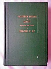 Selected Essays on Equity compiled and edited by Edward D Re (1955, Hardcover)