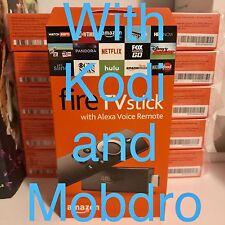 JAILBROKE Fire TV Stick w/ Alexa Voice Remote - 2nd Gen Quad Core - 17.1 KOD1