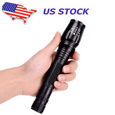 Tactical 10000Lumen FOR CREE XM-L T6 LED 5Modes Flashlight Aluminum Torch USA