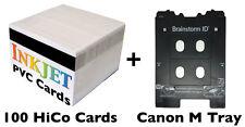 Inkjet PVC ID Card Kit M Tray Canon Pixma TS8020, TS8050, TS9020, TS9050, Others