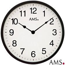 Ams 46 Wall Clock Quartz Watch Kitchen Office Ø 30cm Work Room 103