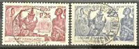 French Guiana #YT150-YT151 Used CDS SOTN CV€3.00 1939 New York Fair [169-170]