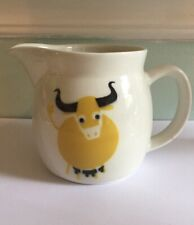 Arabia Finland Steer Cow Pitcher 4 1/4 Inches