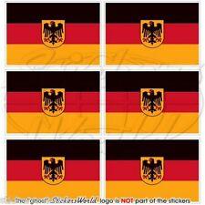 Deutschland staat flagge deutsche fahne pratique mini-aufkleber, autocollant 40mm x6
