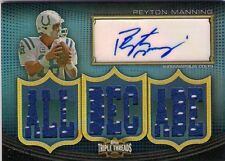 PEYTON MANNING '10 THREADS AUTO 9 JERSEY RELIC SP /18