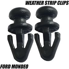 10x Clips For Ford Mondeo mk2 mk3 mk4 Door Seal Sill Lower Rubber Weatherstrip