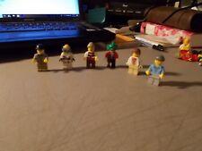 LEGO MINI FIGURES LOT OF 6 ASSORTED FIGURES #1