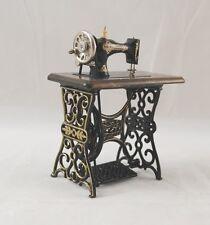 Metal Antique Sewing Machine 1.780/3  Reutter  miniature dollhouse 1/12 scale