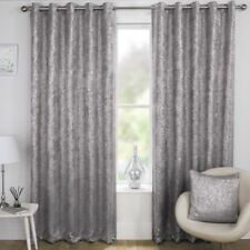 Shimmer Glitter Sparkle Metallic Bling Effect Eyelet Thermal Blockout Curtains