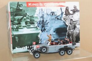 KING & COUNTRY LAH87 LEIBSTANDARTE GERMAN LEADER NEW MERCEDES STAFF CAR SET nv