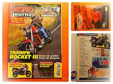 MOTO journal 1621-17/6/2004-Triumph Rocket III-Hamaha XT 1000 trail-Joe Bar Team