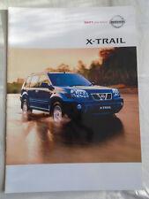 Nissan X Trail brochure Jul 2003 Australian market