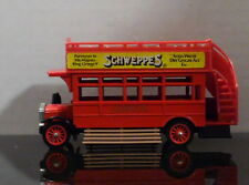 MATCHBOX MODELS OF YESTERYEAR Y-23 1922 A.E.C. S TYPE OMNIBUS IN RED DIECAST