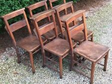 Beech Dining Chairs Art Deco Antique Furniture